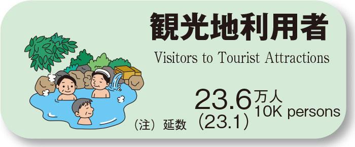 観光地利用者